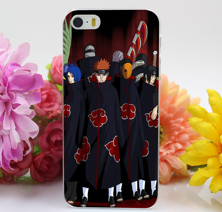 the best attitude c55ff a2904 Naruto Hard Cover iPhone Case